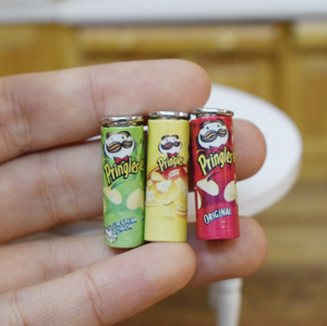 1/12 Scale Dollhouse Miniature Pringles (3 pcs/set)