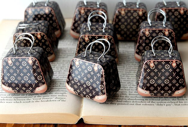 3a5ac670121 Miniature Louis Vuitton Suitcase (1 6 scale) – Tiny Must Haves