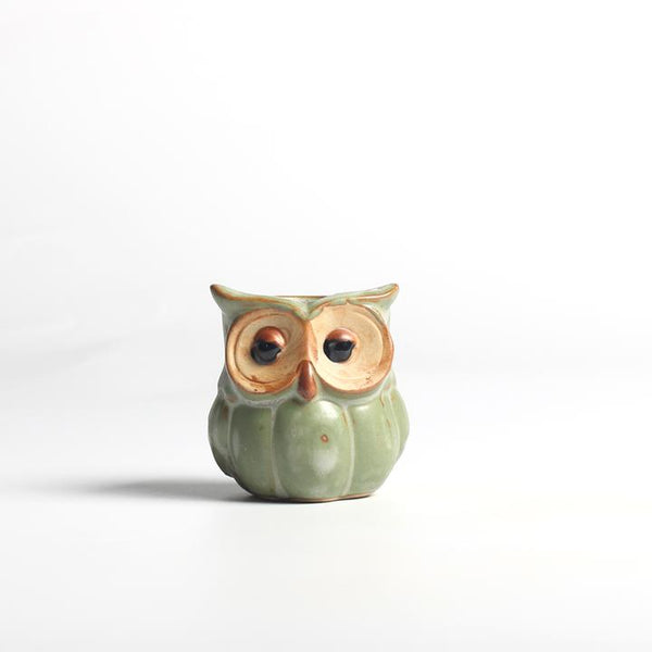 Mini Owl-shaped Flower Pots (5pcs)