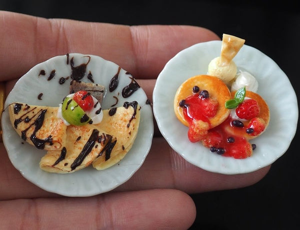Miniature Crepes and Pancakes