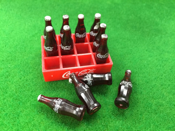 Dollhouse Miniature Coca Cola Tray 1:12 scale