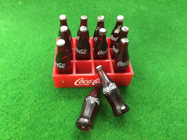 Dollhouse miniature 1:12 coca cola tray