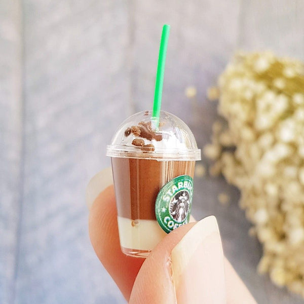 1:6 Dollhouse Miniature Starbucks Mixed Cups