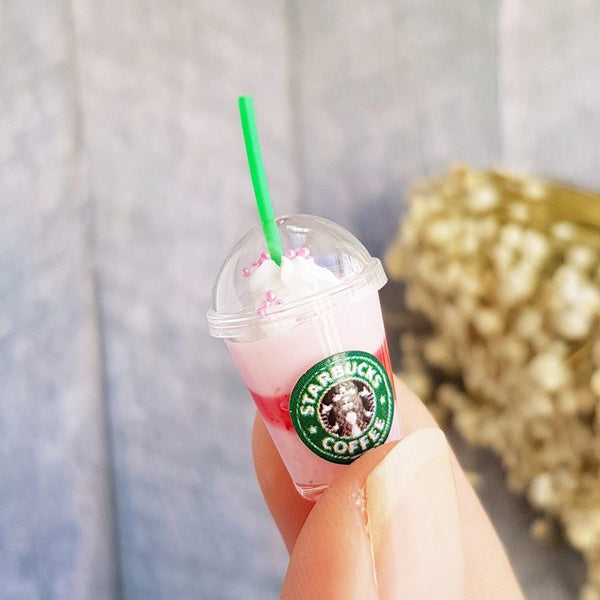 Miniature Starbucks Ice Coffee Frappuccino
