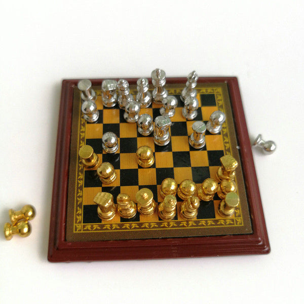 1:12 dollhouse miniature chess