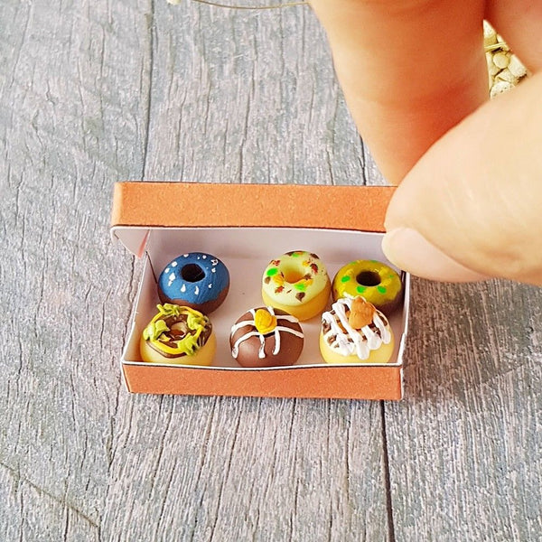 Miniature Dollhouse Donuts