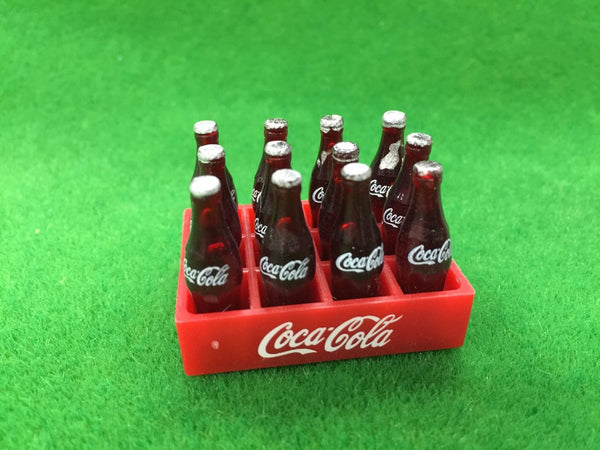 Dollhouse Miniature Coca Cola Tray