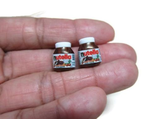Miniature Nutella Bottles (4 pcs)