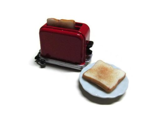 Dollhouse Miniature Bread Toaster 1:12 scale