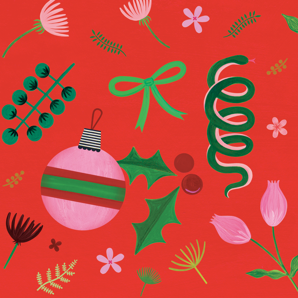 Wild Holiday Gift Wrap