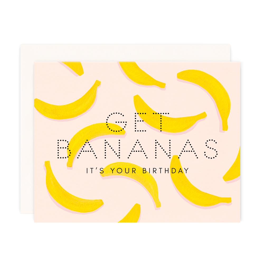 Get Bananas Birthday
