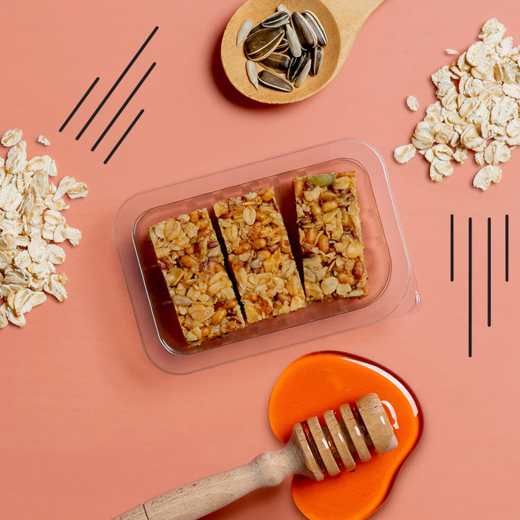 honey and seed protein flapjack multipack