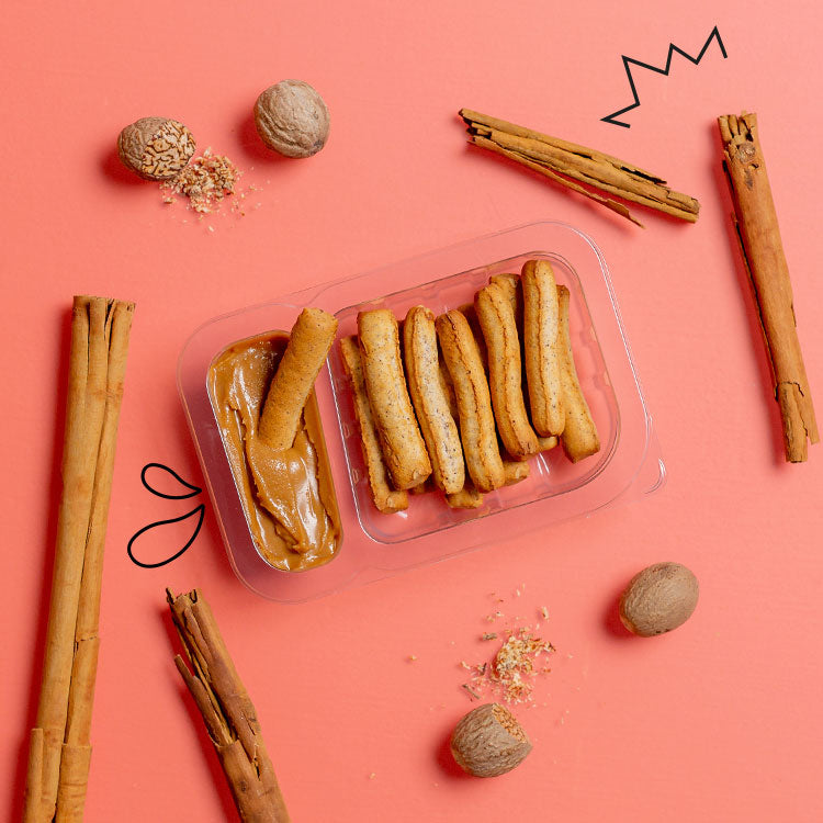 Belgian speculoos and cinnamon pretzel sticks multipack