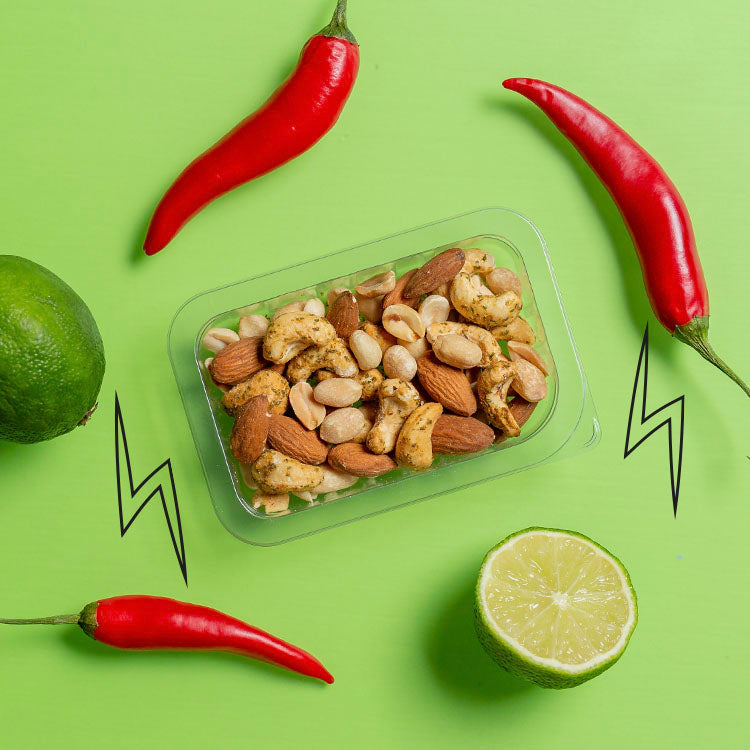 punchy chilli & lime nutty protein power multipack