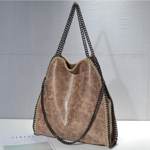 Autumn And Winter New Chain Handbags Foldable Three-Chain One Shoulder Women's Bag