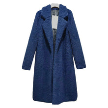 Autumn And Winter Collared Lamb Velvet Pure Color Coat