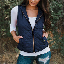 Autumn And Winter Casual Sleeveless Cotton Vest Coat
