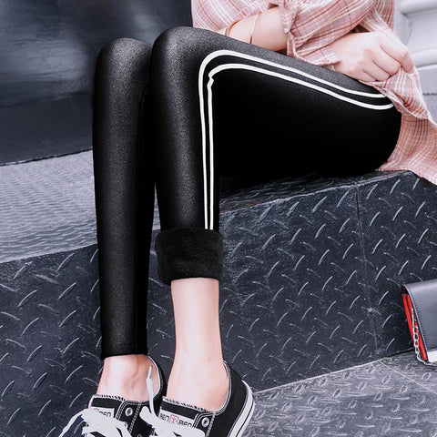 Fashion Warm Show Thin Cotton Ninth Pants Tight Pants