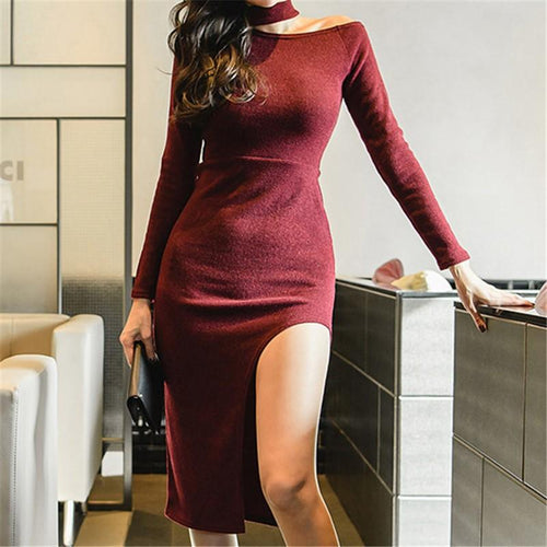 Casual Sexy Off Shoulder Party Dresses