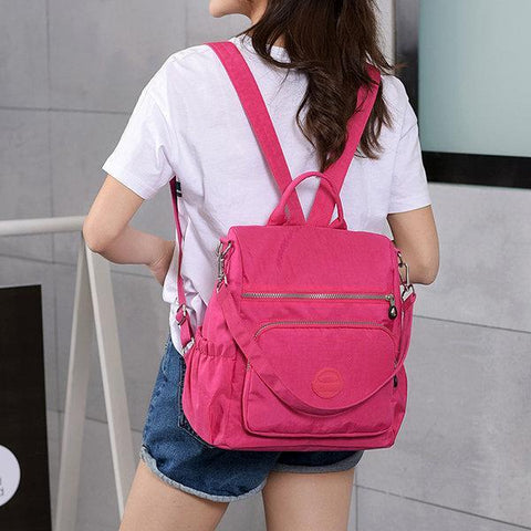 Casual Ladies Backpack Multi-Function Anti-Theft