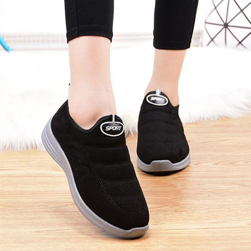 Winter Non-Slip Soft Bottom Breathable Sneakers