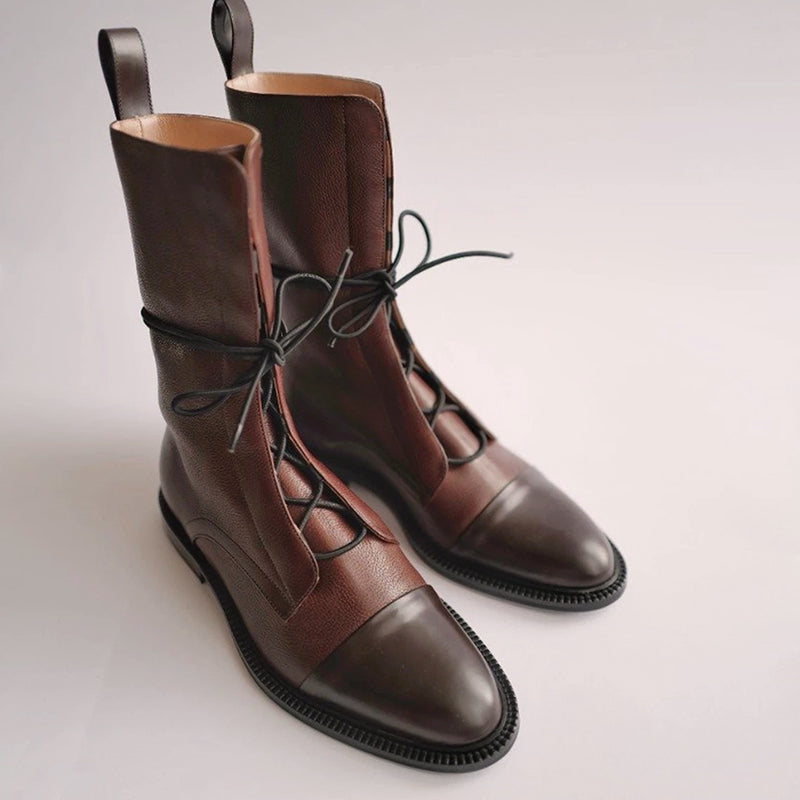 Comfortable Flat Bottom Locomotive Boots