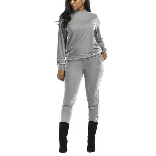Casual Fashion Sport Suit Of Golden Fleece