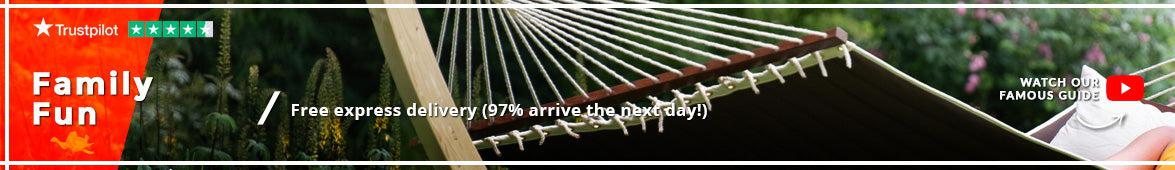 Extra Large Family Hammocks  |  Hammocks, Hanging Chairs, Stands with a Hammock and Garden Hammock Sets