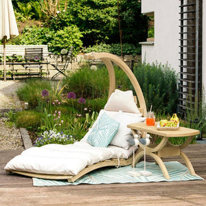 Hammock Chair - Swing Lounger - Creme