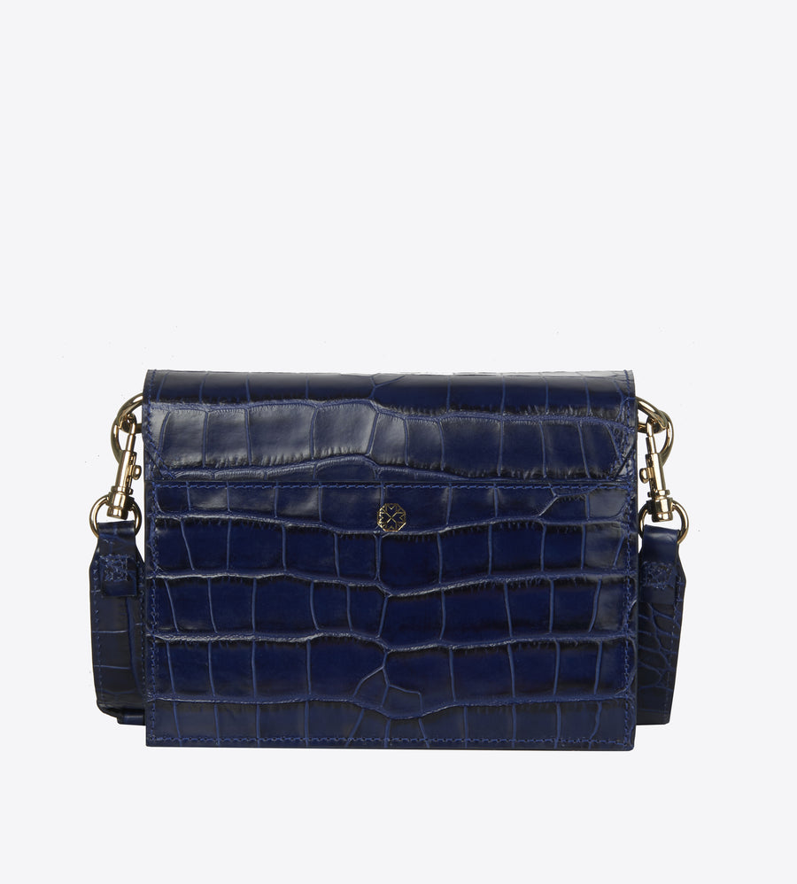 Melbourne Deep Blue croco