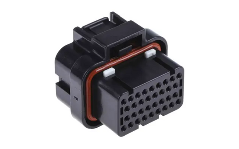 AMP 34-Way (Key 2) Connector + Terminals