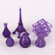 3D Model Resin SLA LASER - Clear Purple