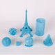 3D Model Resin LCD/DLP/LED - Clear Blue