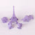 3D Model Resin LCD/DLP/LED - Clear Purple