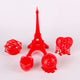 3D Model Resin SLA LASER - Clear Red