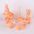 3D Model Resin SLA LASER - Solid Orange