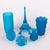 3D Model Resin SLA LASER - Clear Blue