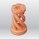 3D Model Resin LCD/DLP/LED - Solid Salmon