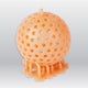 3D Model Resin LCD/DLP/LED - Solid Orange