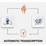 ODMS R7 combines with Nuance Dragon for automatic transcription method