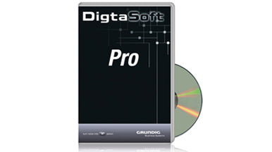 Grundig Digta Soft Pro Software included with Grundig Digta Transcription Kit