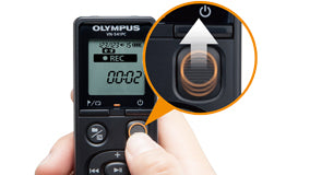 Olympus VN-541PC Built for Instant Dictation