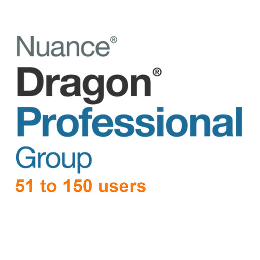 Nuance Dragon Professional Group 15 Volume License 51 - 150 Users - Speak-IT Solutions LTD