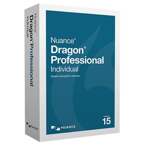 Nuance Dragon Professional Individual V15 (Instant Download) - Speak-IT Solutions LTD