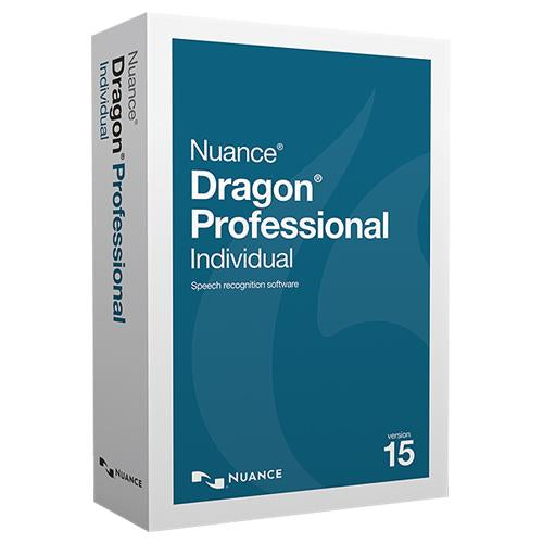 Nuance Dragon Professional Individual V15 (Boxed Copy) - Speak-IT Solutions LTD