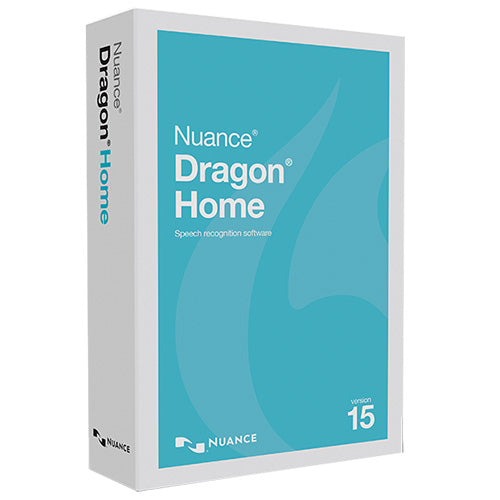 Nuance Dragon Home 15 (Boxed Copy) - Speak-IT Solutions LTD