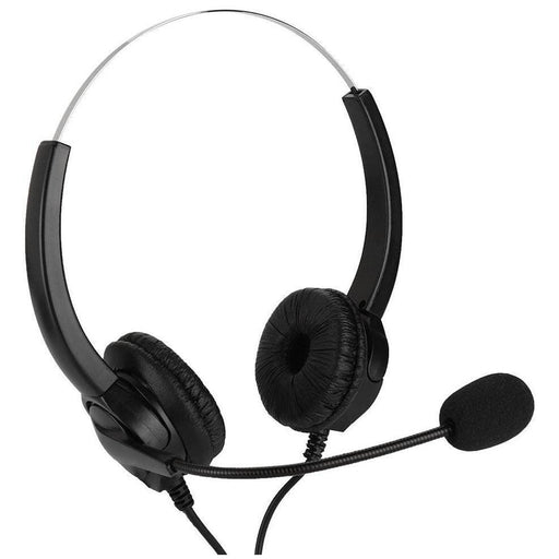 Speak-IT EC134 Binaural USB Headset with Microphone & Volume Control
