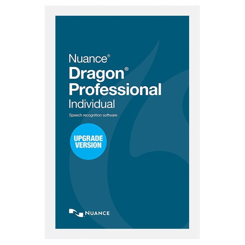 Nuance Dragon Professional Individual V15 Upgrade License - Speak-IT Solutions LTD
