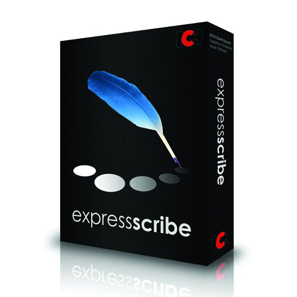 Express Scribe Transcription Software - Instant Download - The Speech Shop
