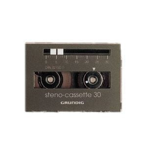 Copy of Grundig 670 Steno-Cassette (5 Pack) - Speak-IT Solutions LTD